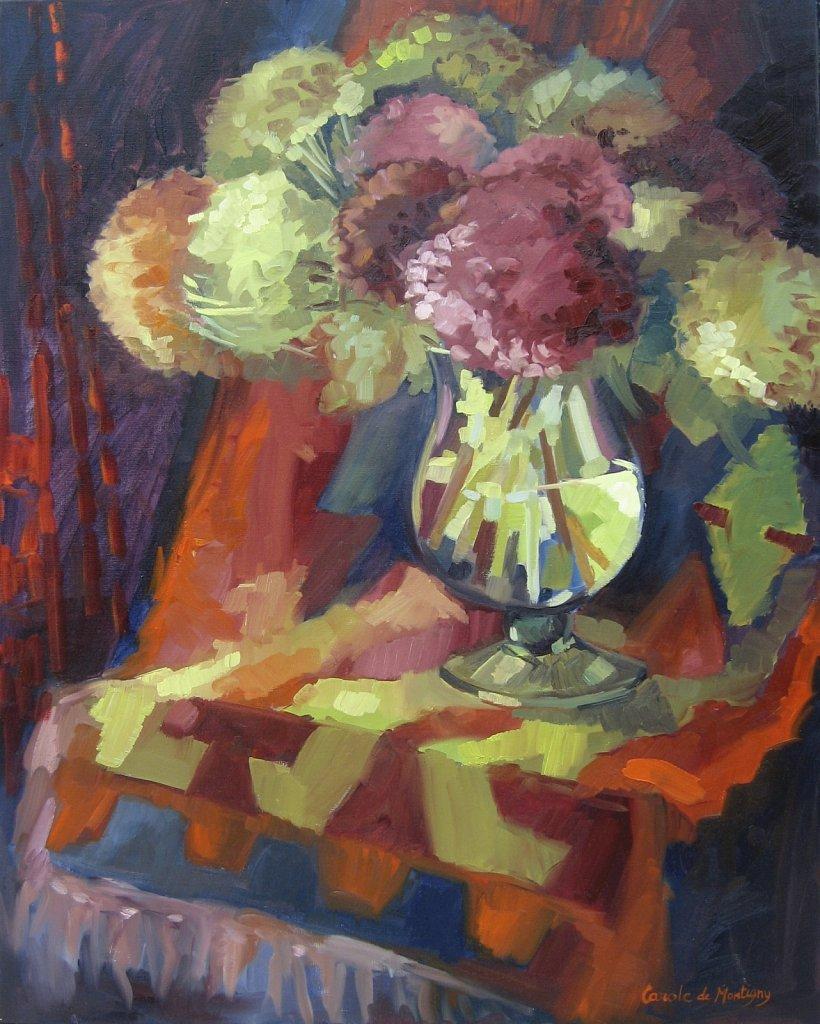 Bouquet d'Horthensias