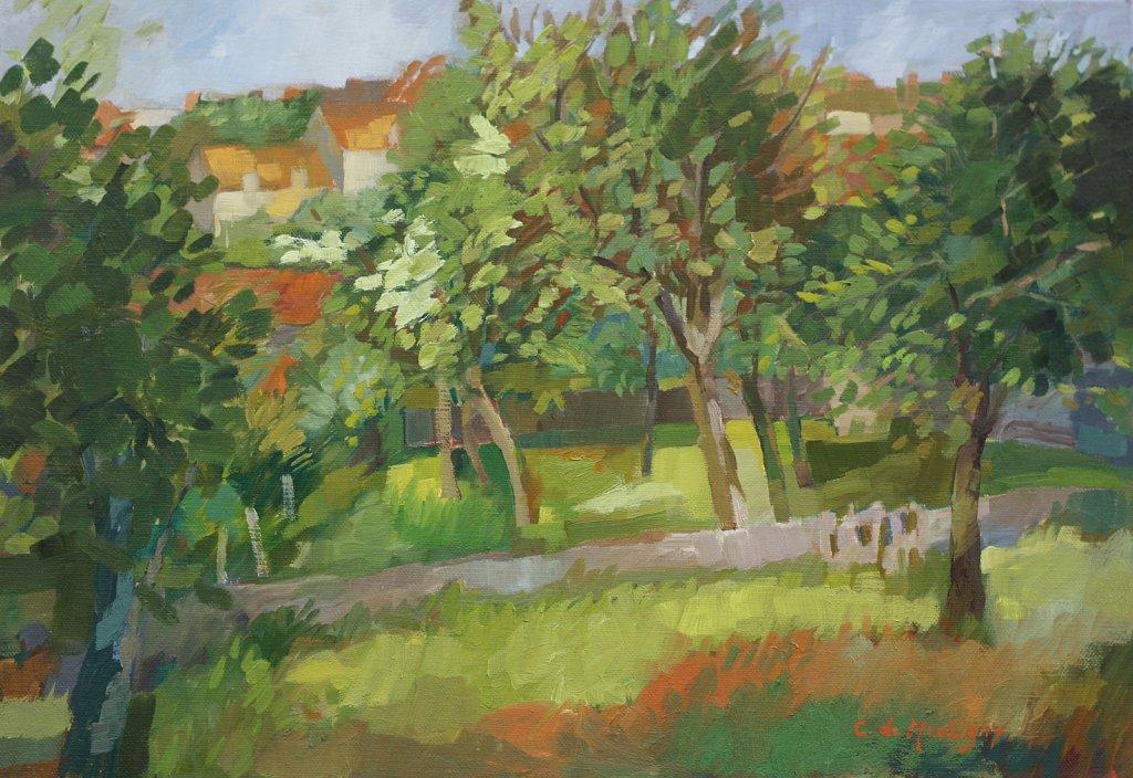 Jardin à Flavigny