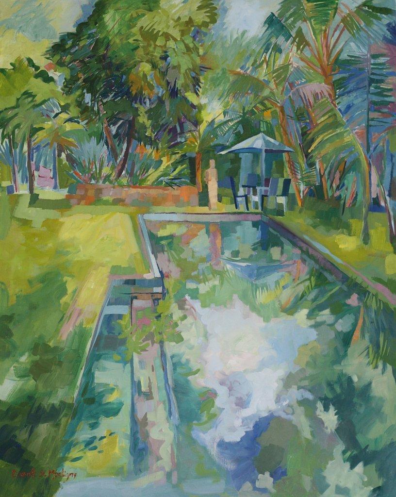 La piscine à Chamarel