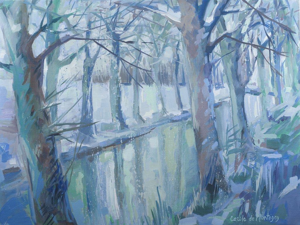 Neige sur le Canal