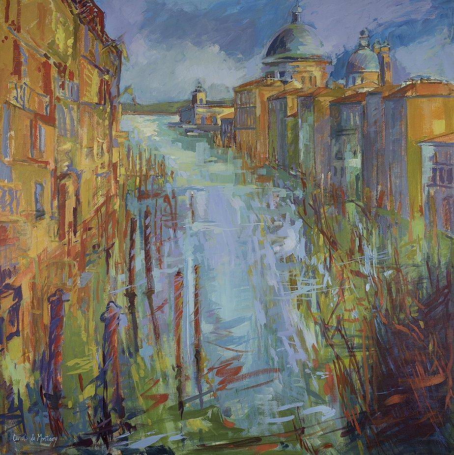 Venise : Vue de l'Accademia