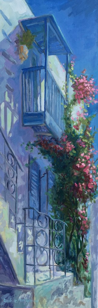 Balcon à Mykonos